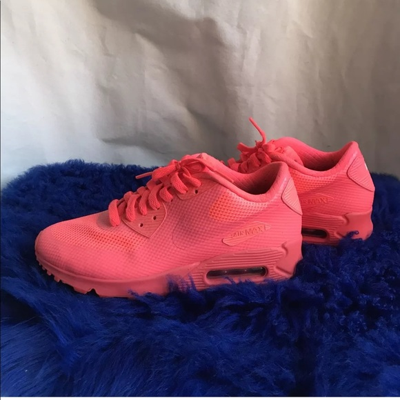NIKE AIR MAX 90 hyperfuse sneaker size 7 in red